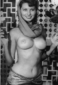 Софи Лорен, скромница