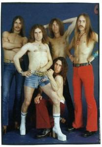 The Scorpions, длинноволосые