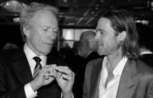 Клинт Иствуд и Бред Питт