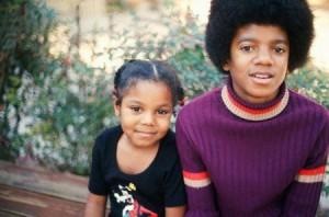 Молодые Джанет и Майкл Джексоны