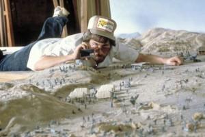 """Стивен Спилберг, съемки """"В поисках утраченного ковчега"""""""