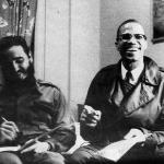Фидель Кастро и Малкольм Икс