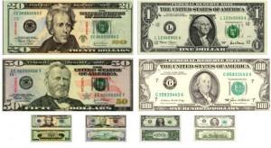 Совеременные доллары