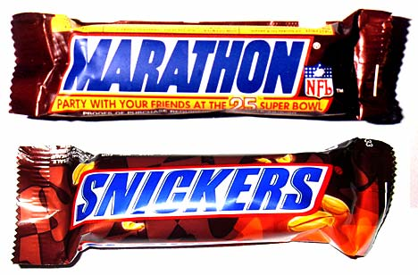 Snikers - marathon